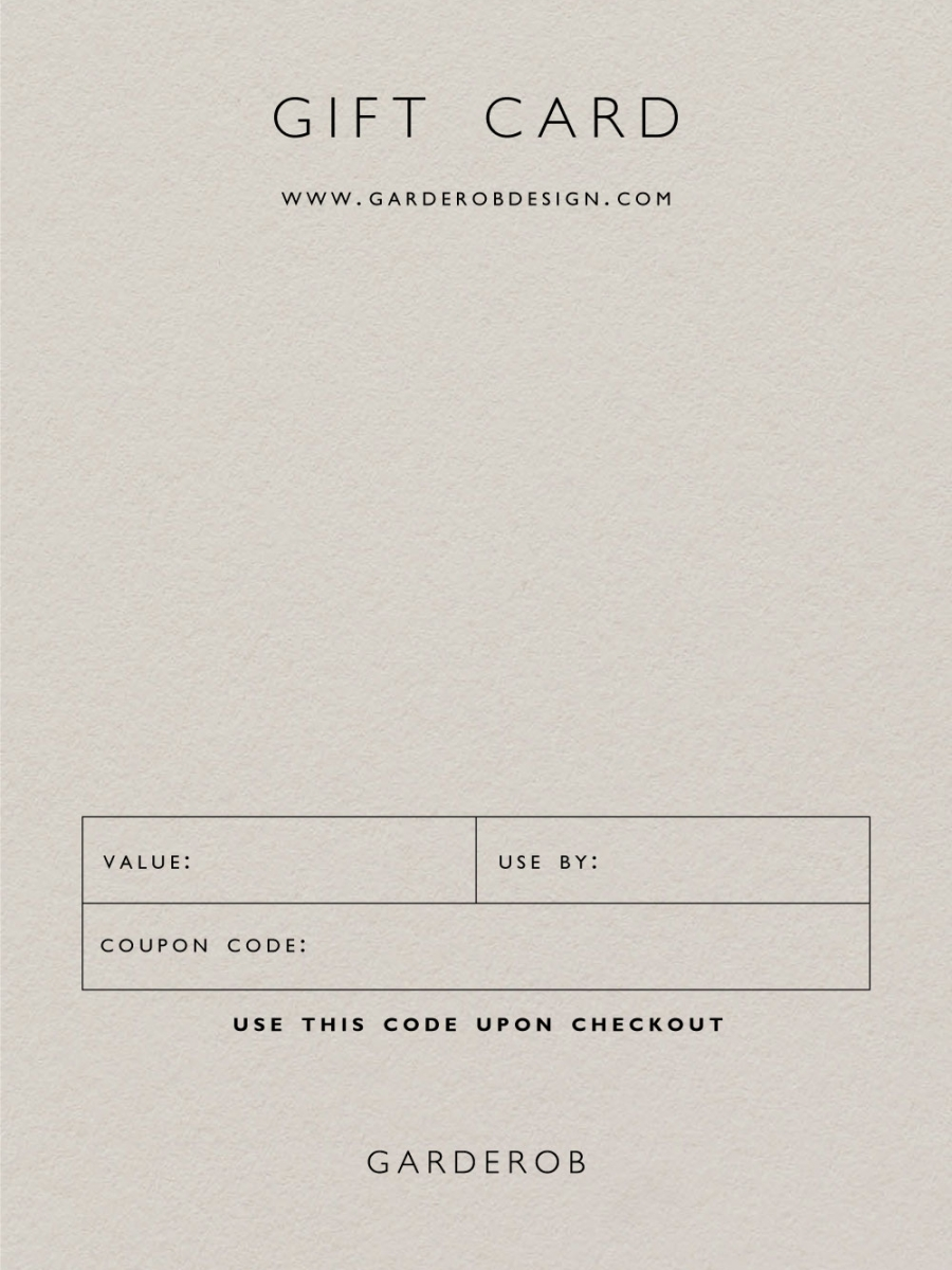 gift card 110x150mm