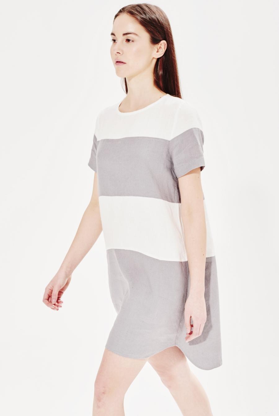 minimalist linen dress scaled