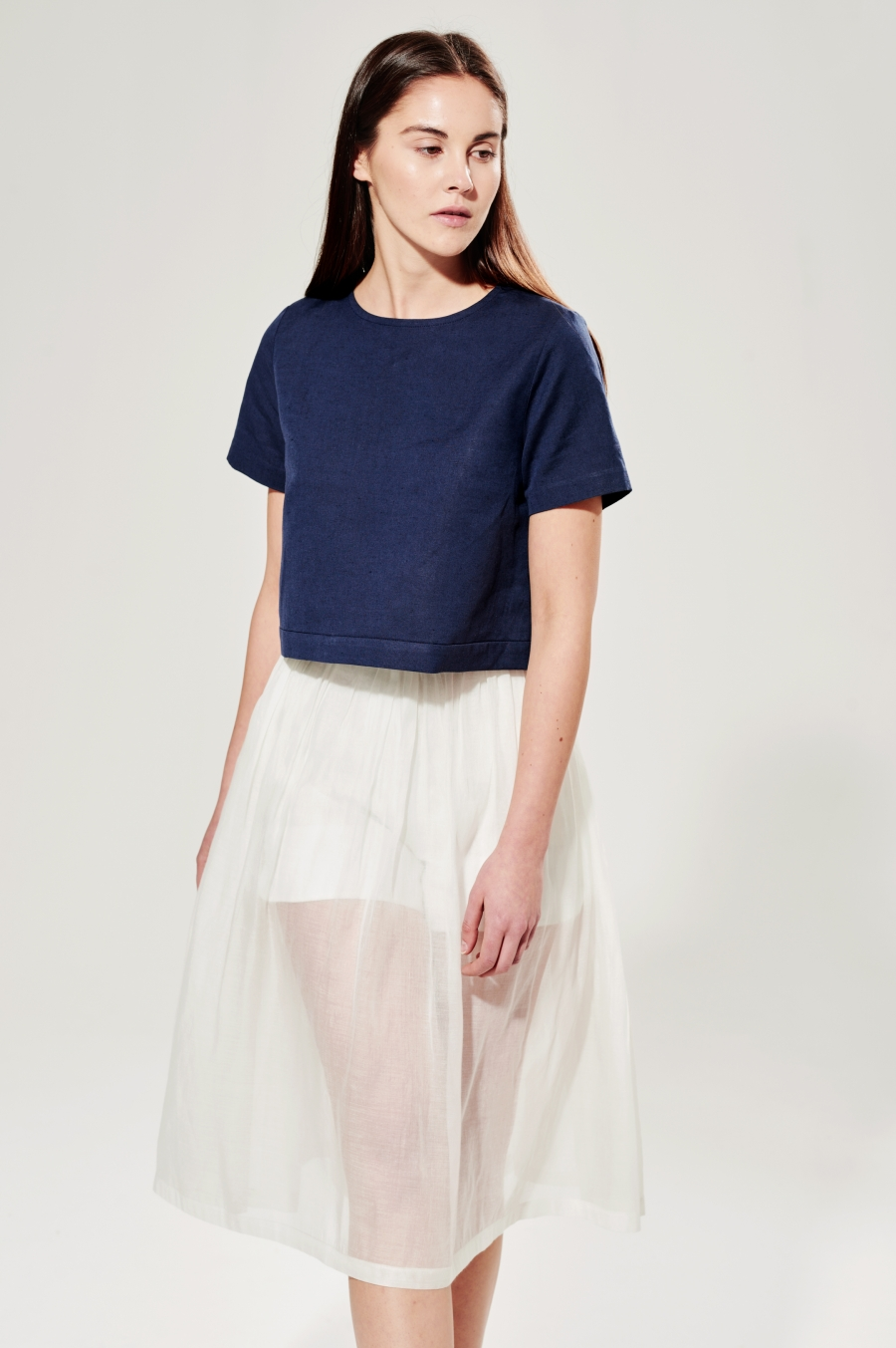 navy blue top scaled